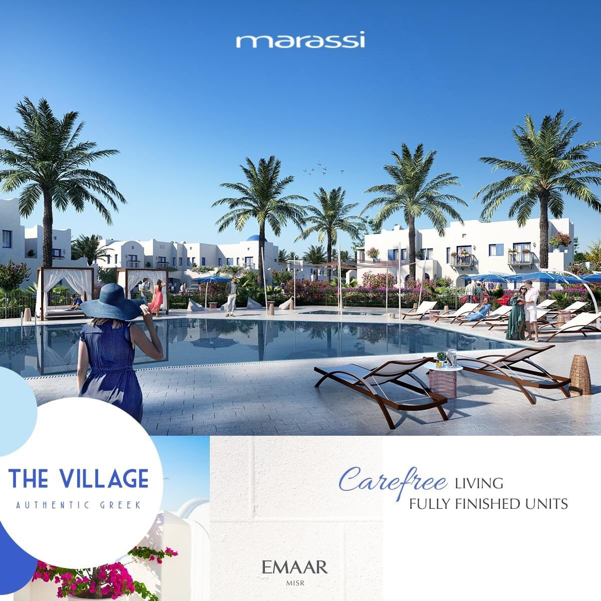 Get enchanted by incredible all-round elevated views from your home at The Village.  Own your summer home now and enjoy complimentary air conditioners for a limited time!  #Emaar #EmaarMisr #TheVillage https://t.co/aP6Z1tHhkg