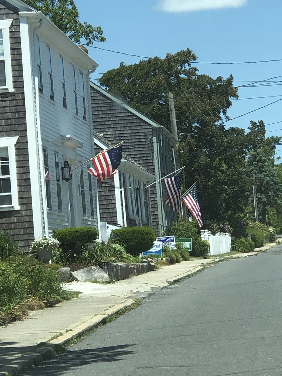 #flagday2020 Westport, Massachusetts.