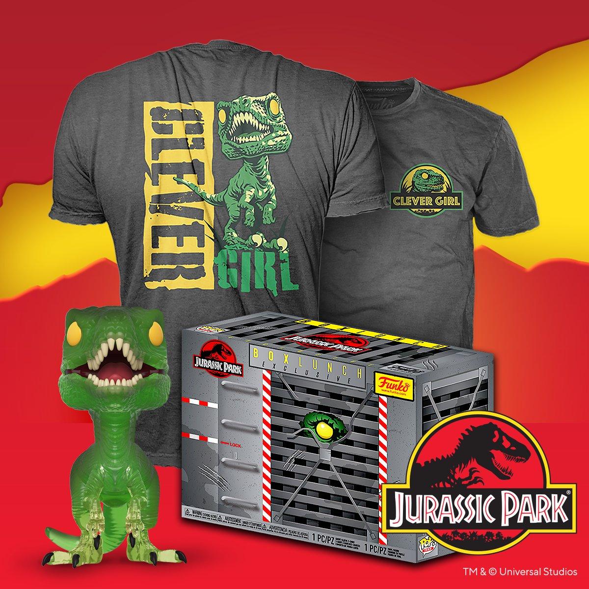 Pop /& Tee Clever Girl Jurassic Park XXL