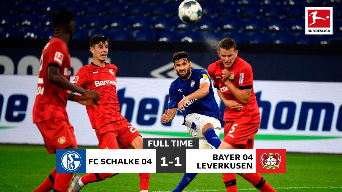Xem lại Schalke 04 vs Leverkusen Highlights, Bundesliga – 14/06/2020