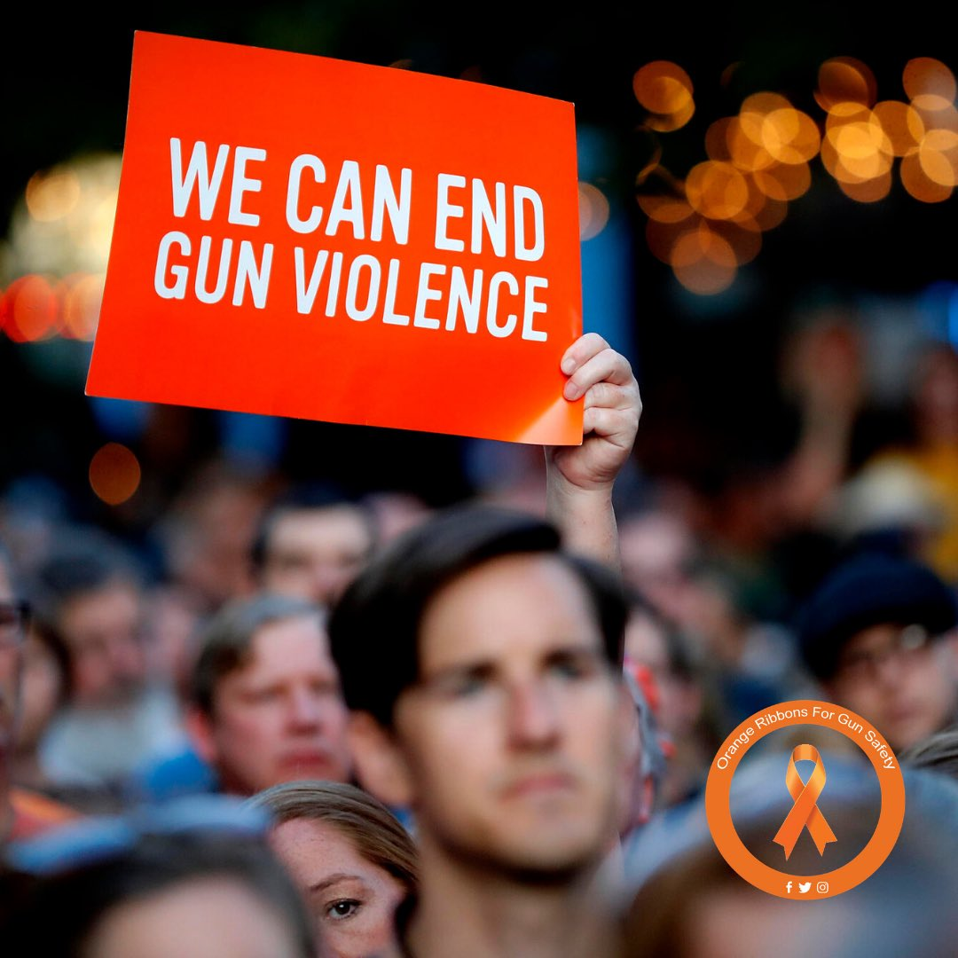 Thank you to everyone who participated in #wearorange to show their support for gun safety awareness last weekend. We hear you, we see you, and we fight for you!   #OrangeRibbonsForGunSafety https://t.co/MtjpoGDV7T