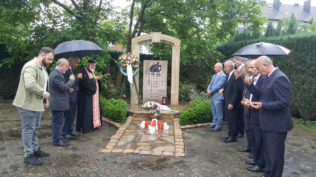 The #genocide1915 #Seyfo1915 memorian held at the Mor Esaghyo church in Gronau, Germany  In presence of the new board of @SuryoyoSat Holland  #Arameans #Syriacs #Aramaic #Suryoyo #Aramäer #Araméen #Oromoye #Arameeërs #Suryani #Suryoye https://t.co/De5tVq3kka