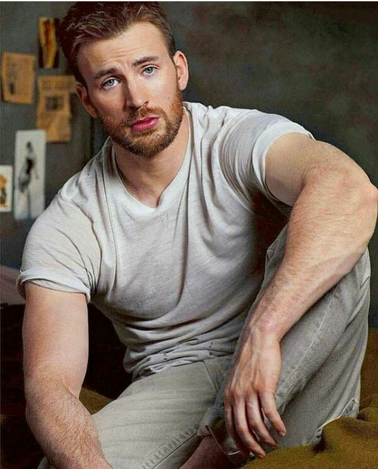 Happy birthday  Chris Evans. you are truly awesome captain America ....... and you always wish happiness