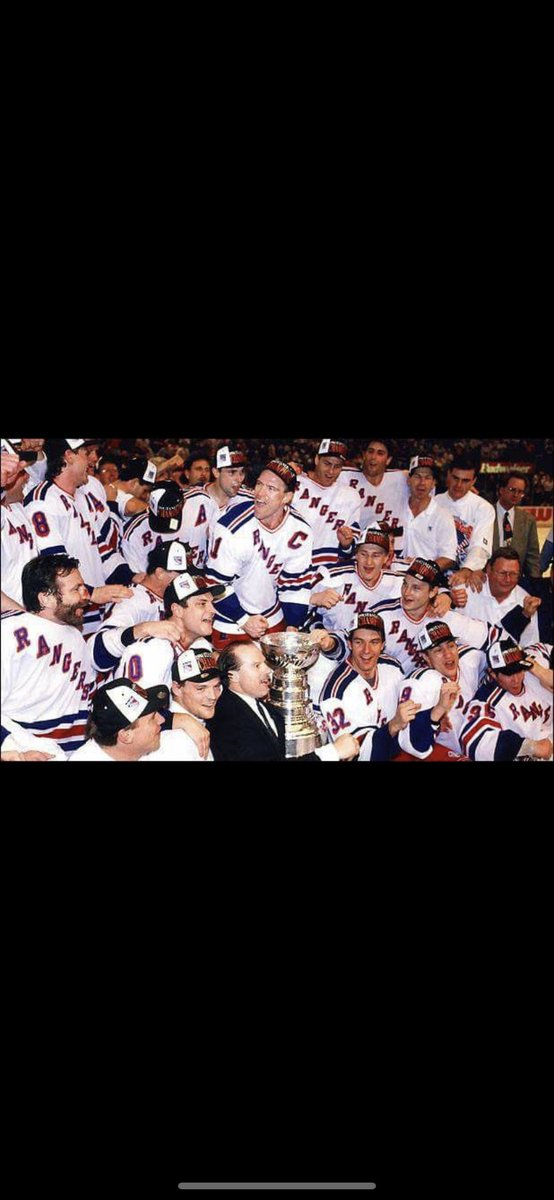 """#69 Simply put- """"This One Will Last A Lifetime!"""". Happy 26th Anniversary Rangers Ramblings backers! #nyrangersfan #rangers #nhl #stanleycupchampions #1994 https://t.co/M9zFziA4ln"""