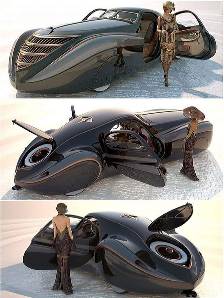 #Car 🚘 Awesome of the Day: #Steampunk-ish ⚙️ 1939 'Midnight Ghost' via @jennifer_stoney #SamaCars  🚗