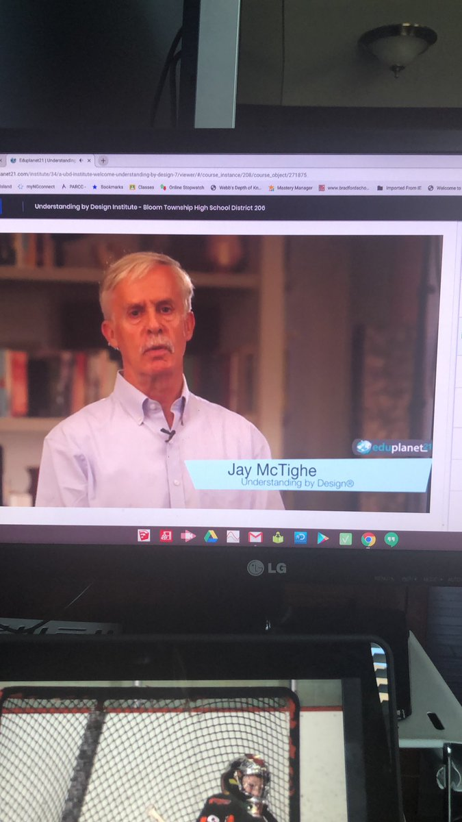 Spending some time this Sunday on learning paths and UBD with @jaymctighe using @Eduplanet21. @DrNavarre - this is one of the best PD platforms we have used! https://t.co/oCDiHpQl64