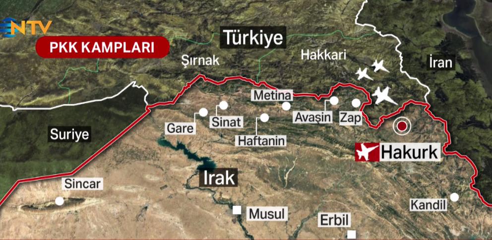 """NTV on Twitter: """"PENÇE-KARTAL OPERASYONU """"PKK terör örgütüne yönelik en kapsamlı, en vurucu, yıpratıcı hava harekatı"""" https://t.co/R9SP1sV1qF… https://t.co/BpjUpO4yLo"""""""