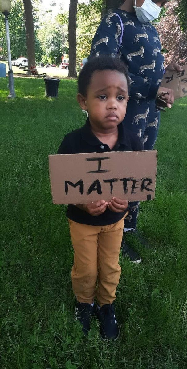 This picture broke me. Yes, sweet baby, YOU MATTER!!!!