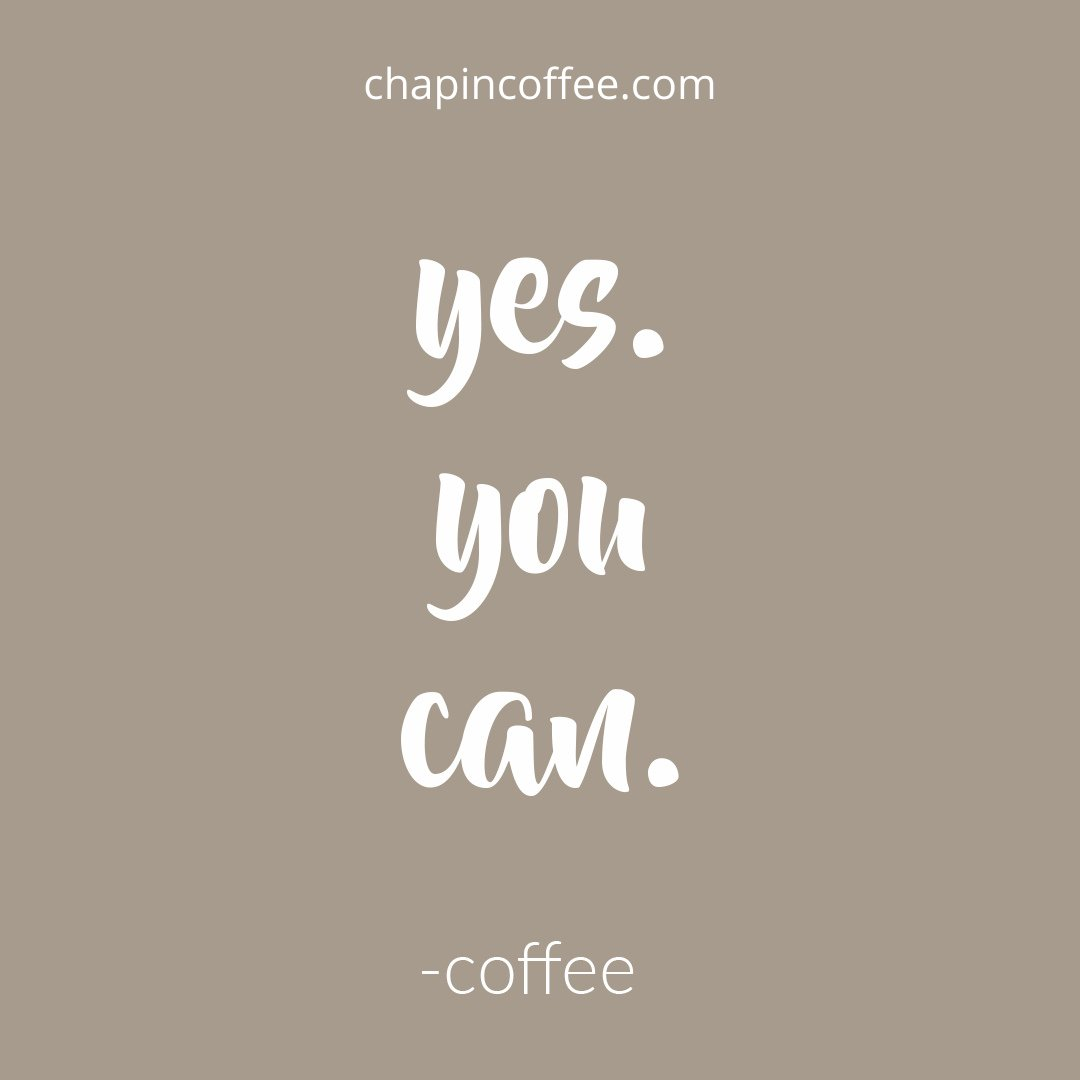 We believe in you! 🙌 More importantly, your coffee believes in you! ☕️ #FuelYourDayWithPurpose https://t.co/yi9INTdtkM