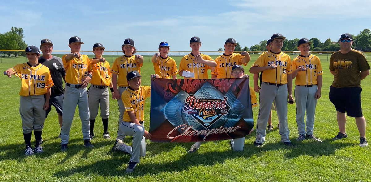 Rams 14 White goes 4-0 and wins 14 A Diamond Classic Global State by beating the Sandlot 12-2 in championship game. Congrats!! https://t.co/flmYWVjvSW