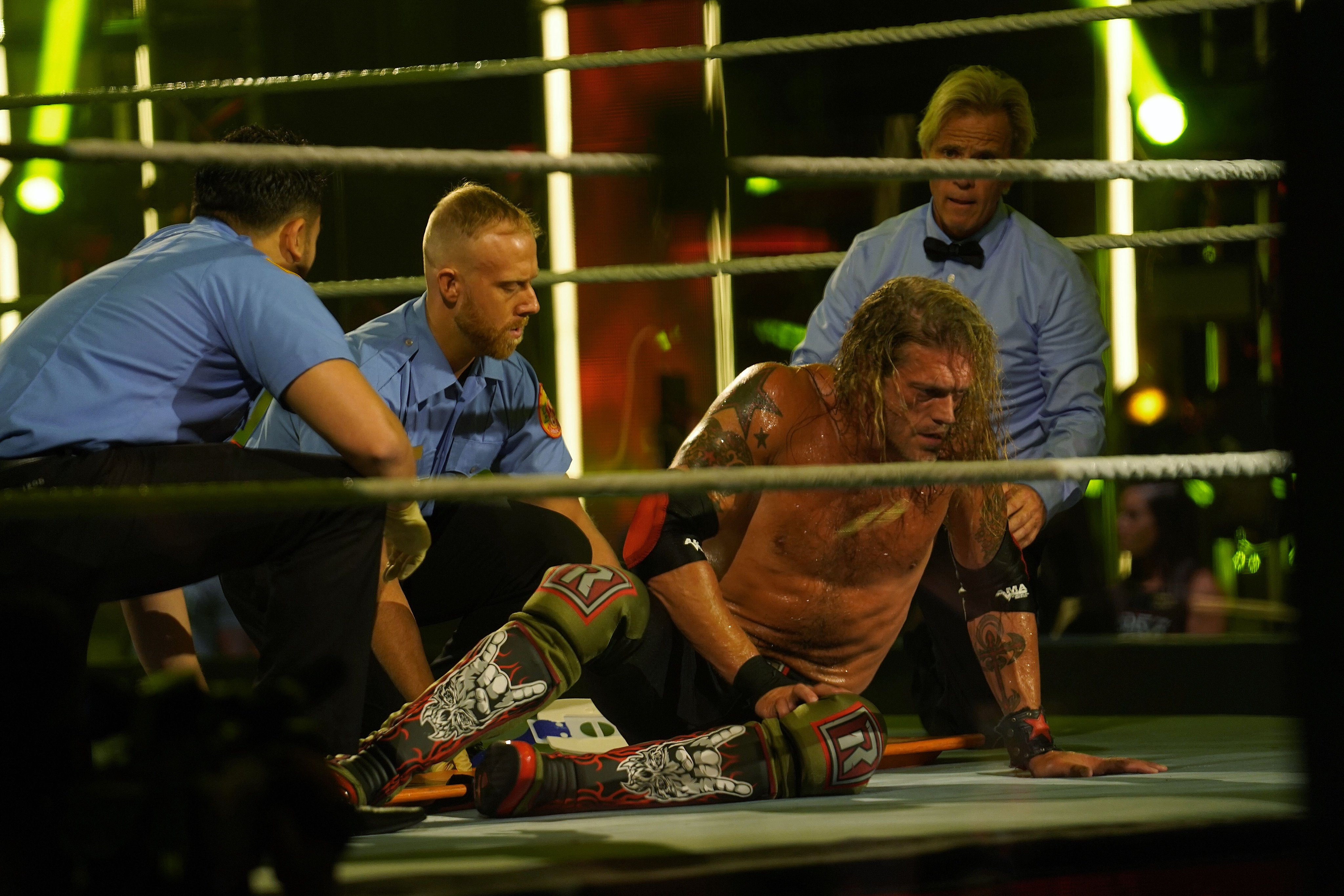WWE Hall Of Famer Edge Suffers Injury At Backlash Main Event 1
