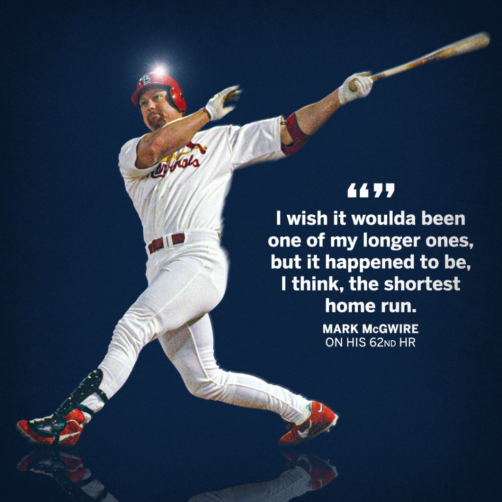 Mark McGwire wishes his record-breaking homer had been a moonshot ⚾