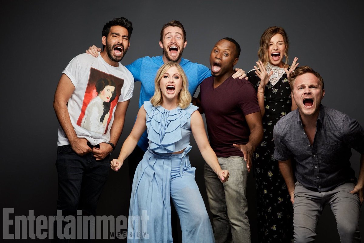 Are the stars & creators of #iZombie friends in real life? I'm re-watching the series, and I so want to believe they solve crimes together still. Or just hang out. @iZombieWriters @RobThomas @imrosemciver @malcolmjgoodwin @RahulKohli13 @robertbuckley @QuestionAnders @CWiZombiepic.twitter.com/ylfQR4xnE7