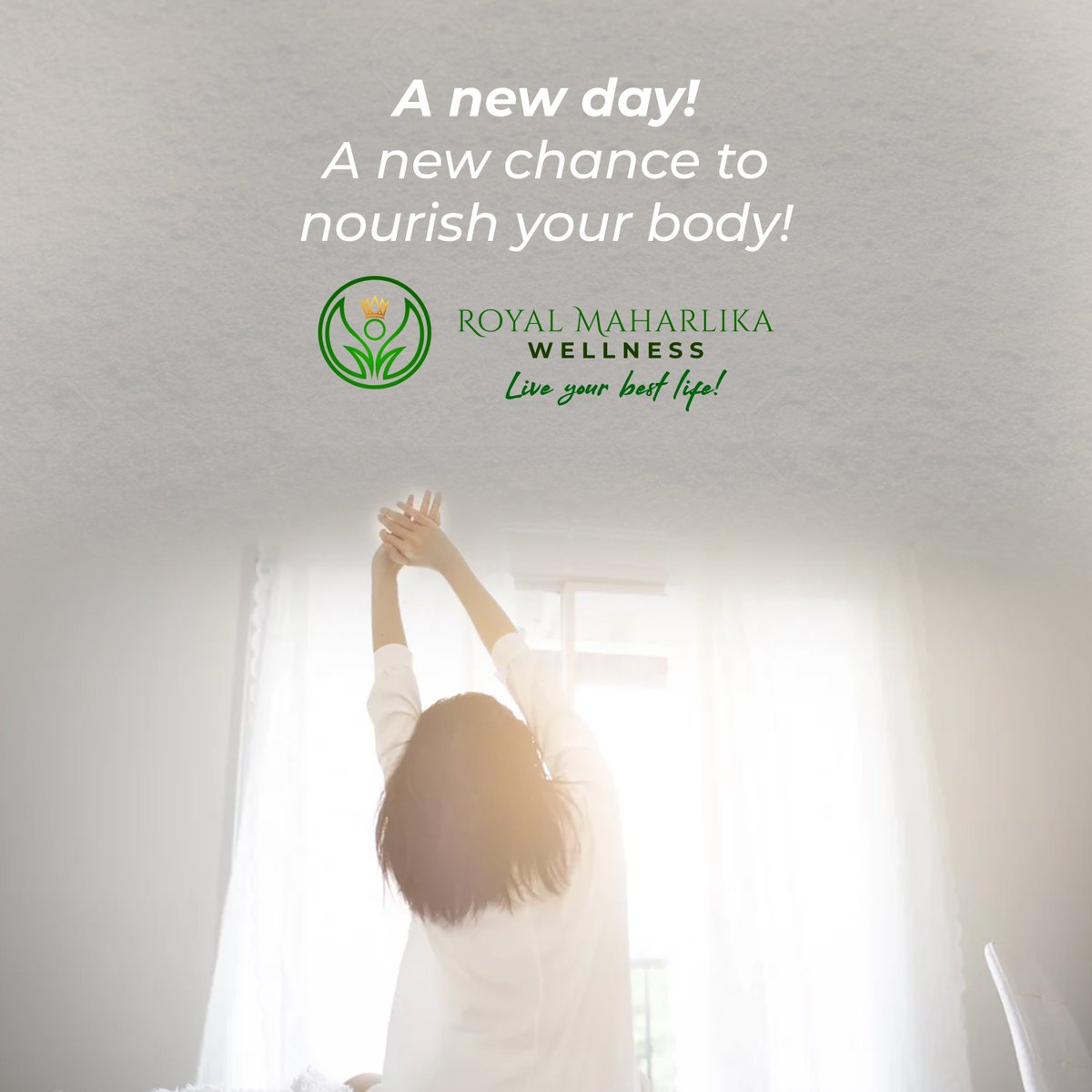 Let's be a part of your wellness journey. Talk to us to know how we can work together!  Happy Monday  #RoyalMaharlika #Liveyourbestlife https://t.co/a6BTc2z8W0