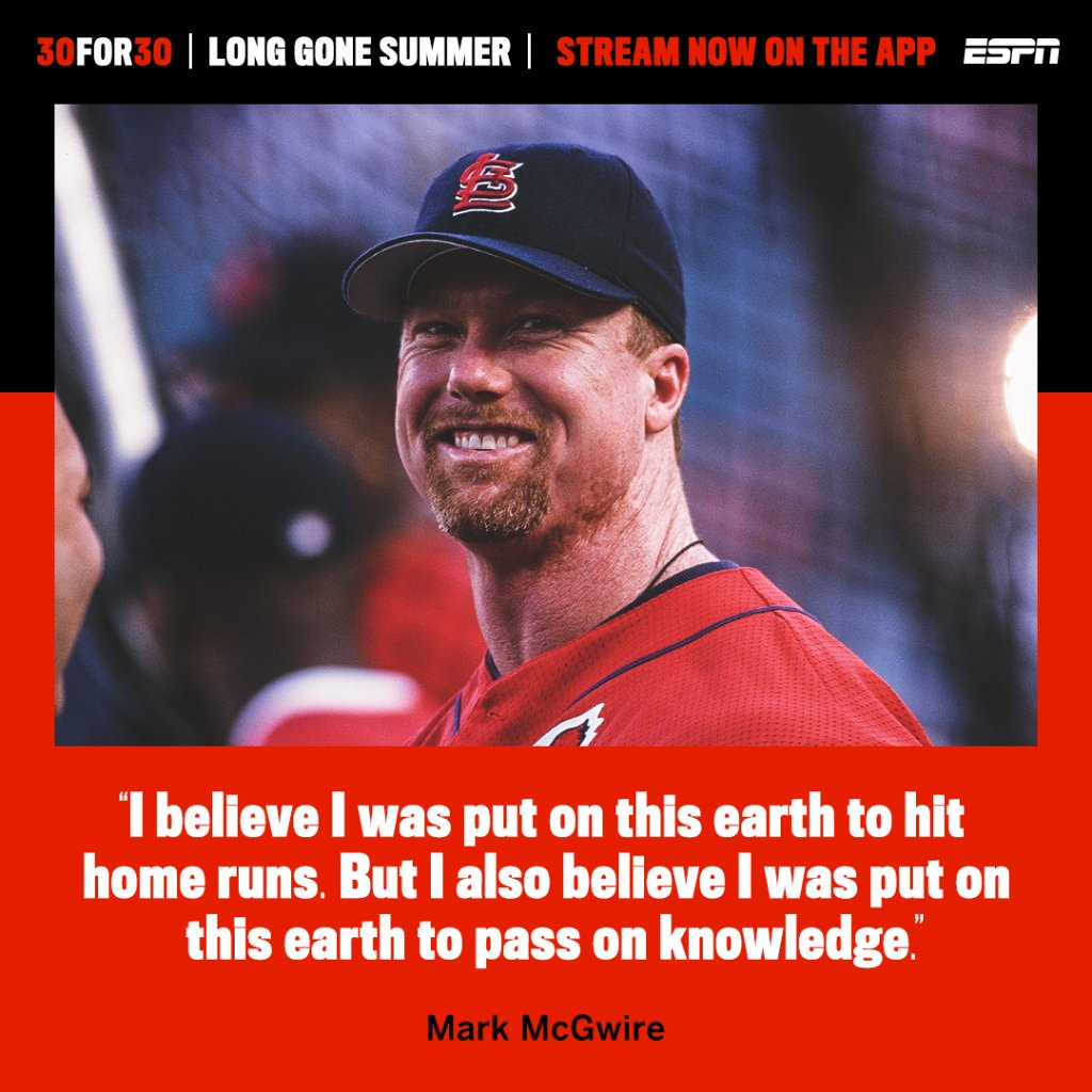 Big Mac says he was born to hit dingers.