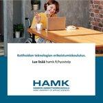Image for the Tweet beginning: Kotihoidon teknologian erikoistumiskoulutus 30 op. Hakuaika