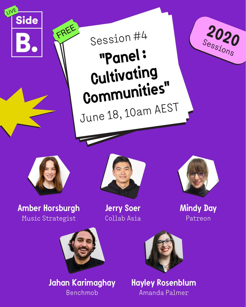 Communities can be a powerful tool for insight, engagement and action. How do we utilise this? Find out in Side B Session #4. https://t.co/aeZlZ8Uq1R #sidebsessions #communities https://t.co/eKWGSnIY5l