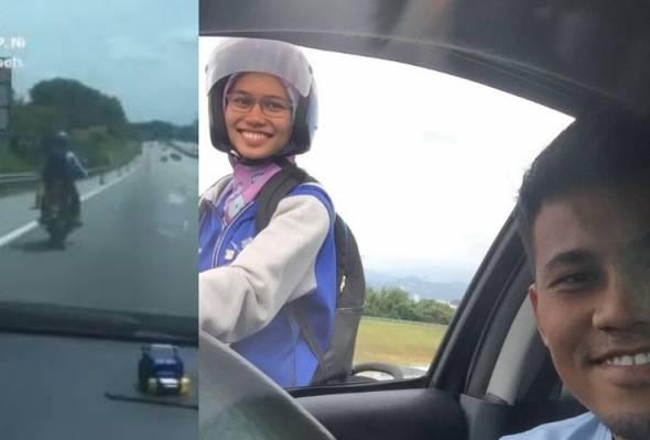 'Banyak kali saya minta maaf' - Isteri tunggang motosikal atas 'highway', ini penjelasan suami #AWANInews #AWANIviral https://t.co/7BbqQm88Wx https://t.co/Og2jw6uoSI