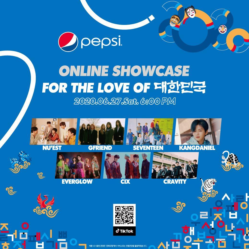 แฟนด้อม..สายเกา มารวมกันตรงนี้!!!  กับ K-POP MUSIC ONLINE SHOWCASE  ที่เป๊ปซีส่งตรงมาให้ดูกันฟรีๆที่ แอป TikTok https://t.co/BpLTWCZgFv   มาสนุกซ่ากันแบบฟินๆใน วันที่ 27 มิ.ย. นี้ เวลา 6 โมงตรงตามเวลาประเทศไทย มาจอยกันนนจ้า   #FORTHELOVEOFIT #FORTHELOVEOFKOREA #pepsi #pepsiThai https://t.co/QtVfPcbsoa