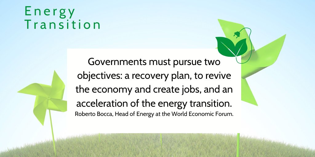 "💬In the wake of the health and economic crisis, the recovery plans must not have the wrong objective:  """"We need to invest in the energy infrastructure of the future, not in that of the past"""" Roberto Bocca, GEF  ➡️https://t.co/EMQQwqhMdP https://t.co/cBEMeOLKdR"