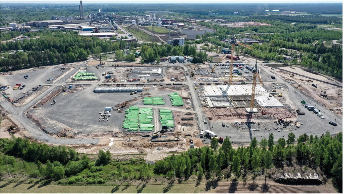 #BASF's battery materials plants in Europe advance as planned: **Construction started on precursor plant in Harjavalta/Finland **Secured building permit for cathode active materials plant in Schwarzheide/Germany $BASFY https://t.co/iQFi1dTTey https://t.co/0i18feZ8bf