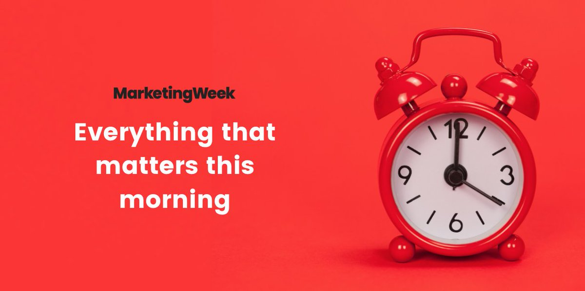 Morning. Here's everything you need to know this morning: - @Unilever  - @officialJ4G  - @ManCity  - @FA  & more. Read the full round-up: https://t.co/kSjKefsIr4 https://t.co/Hi7h3mxYkL