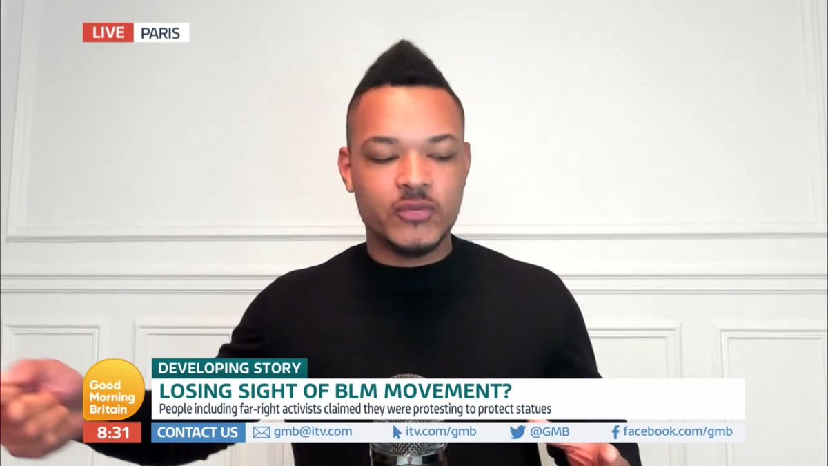 'We can spend time trying to deal with statues but until you address the cause of systemic racism it will rear its ugly head.'  @stevebartlettsc says teaching young black kids about successful black role models is far more important than bringing down statues. https://t.co/0amoQKBLoX