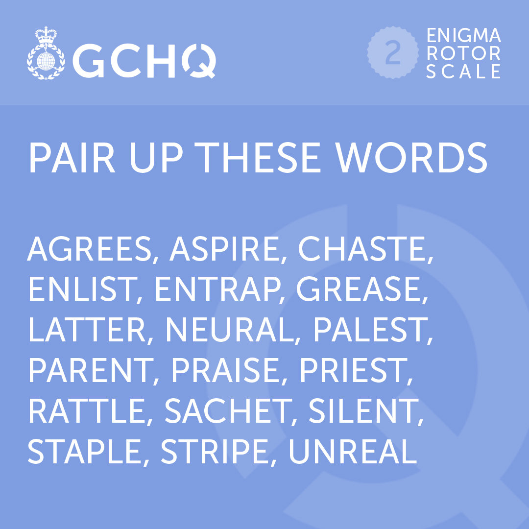 New week, new #GCHQPuzzle  Try this one out ⬇️   #MondayMotivation https://t.co/jRTVuIEtFI