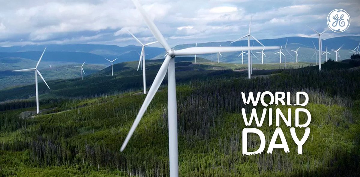 We at #GE see the potential of #RenewableEnergy everywhere we look. Our @GErenewables team utilizes the strength of the wind to #power the world's biggest economies.  #WorldWindDay https://t.co/ijnu5PYy0y