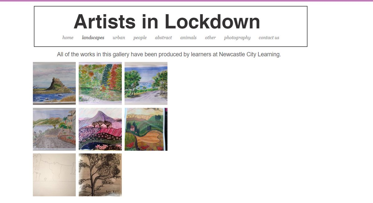 Lockdown has increased creative activity everywhere. Our drawing, painting and digital photography classes are still flourishing, and we now have a thriving on-line gallery!   Visit, view and contribute here  https://t.co/sqOPULiTlc  Read more about it https://t.co/n7Ct80KrkY https://t.co/oHenZQOfvp