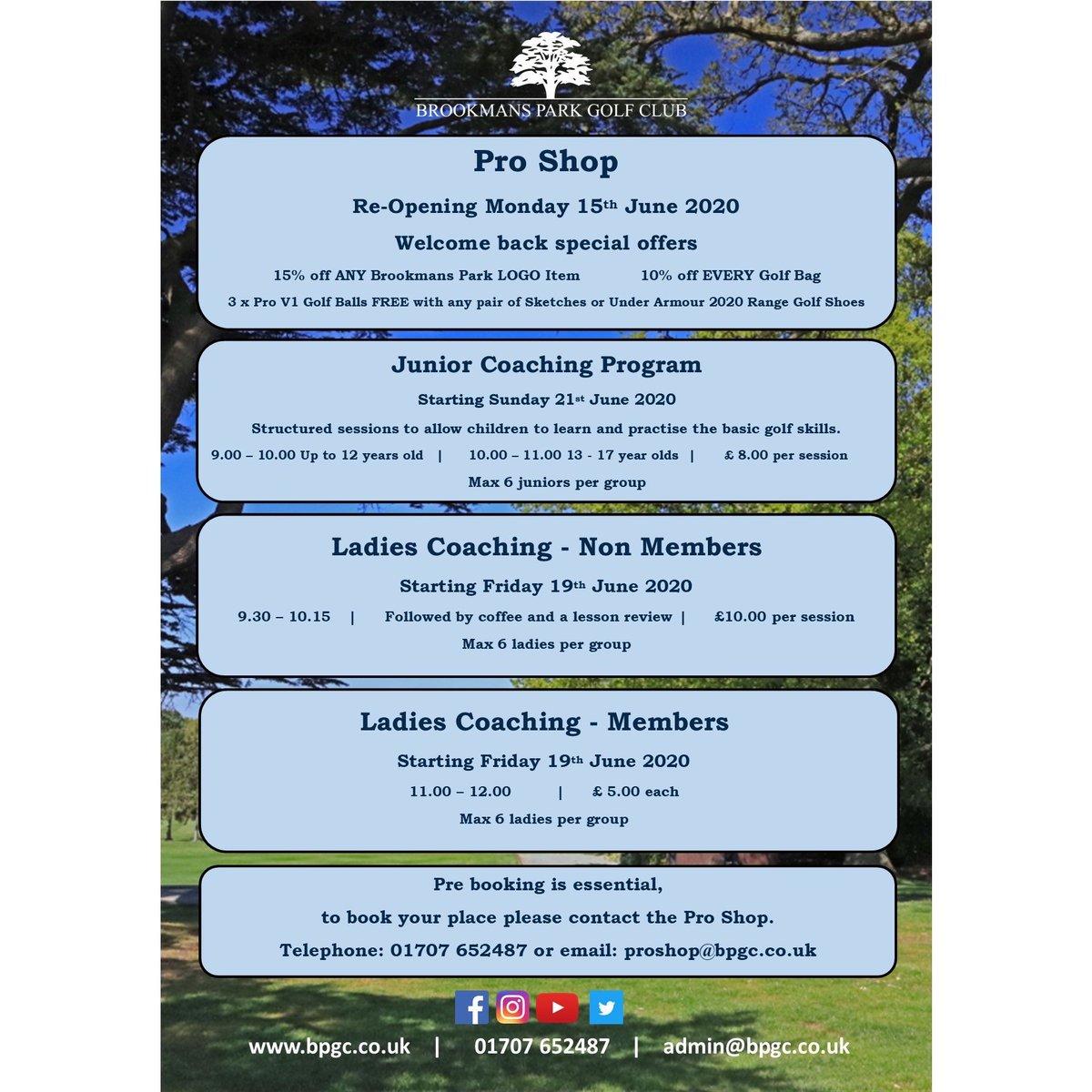For information regarding Golf Lessons, please get in touch today. Email: proshop@bpgc.co.uk or call: 01707652487 #brookmansparkgolfclub #golflessons #juniorgolf #newbeginnings #golf #golfingpic.twitter.com/TJrmzWOXGR