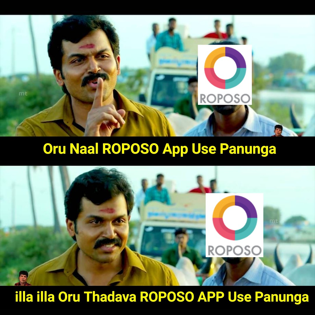 One amazing app to create beautiful videos and the additional information is roposo is created by indians. Support it RoposoIndias VideoApp https://t.co/6D3ErQZdff