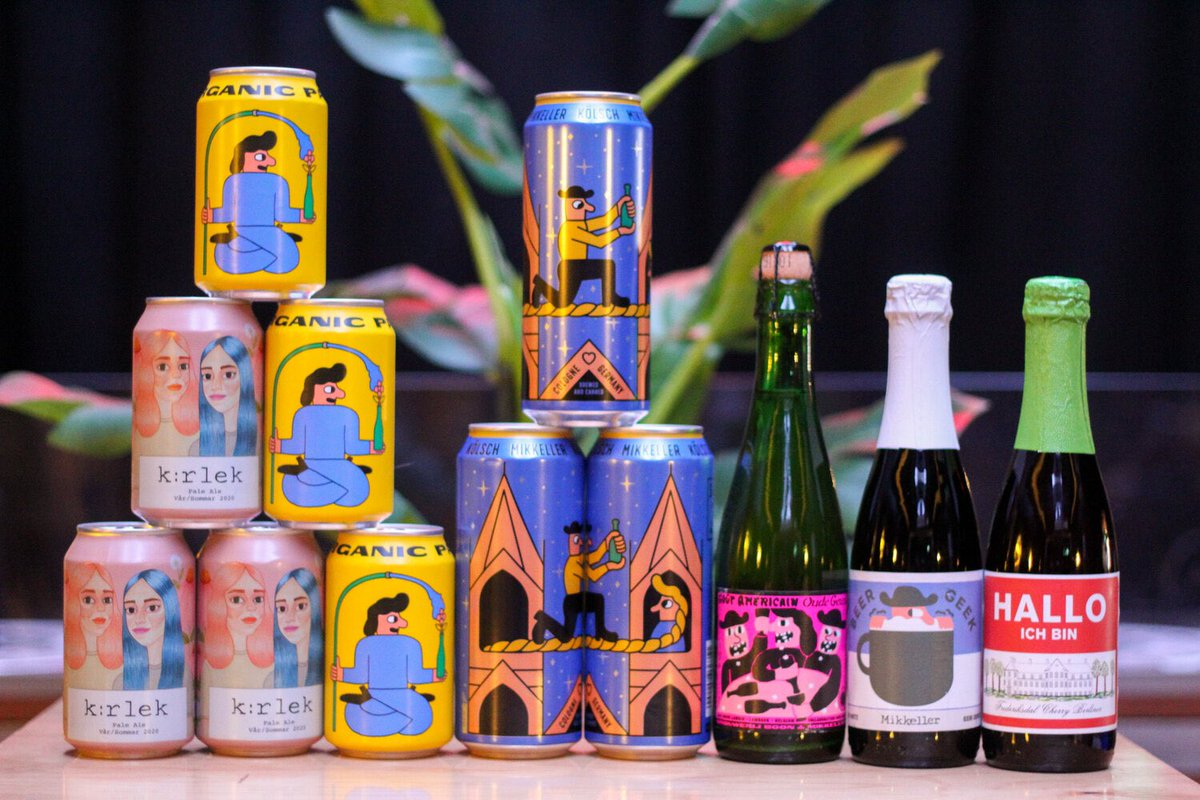 New! We've put together a selection of our favourite new releases by Mikkeller all in one pack. The Mikkeller Premium Box contains a selection of 12 cans & bottles, with only a limited few available.  Order now for delivery this weekend!  https://t.co/VEPwdA4U6N https://t.co/sx8zLdVmPC