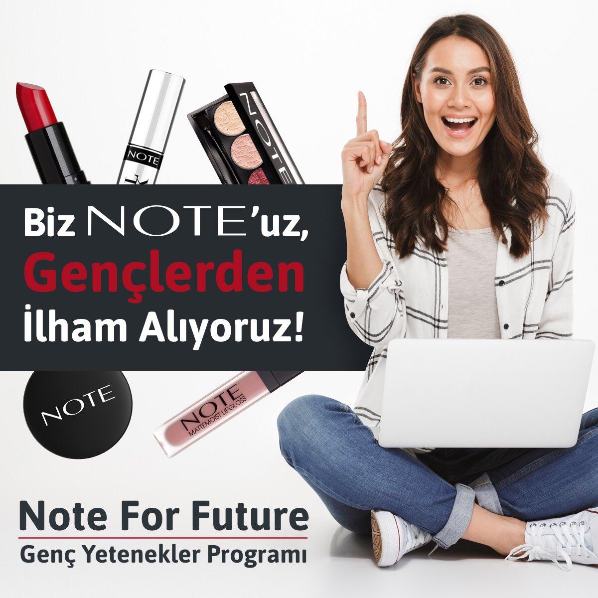 Note for Future-Genç Yetenekler Programı, kozmetik sektörüne fikirleri ile ilham vermek isteyen üniversiteli gençleri Online Gelişim Programına davet ediyor🙋🏻♀️ 📌Program detaylarını çok yakında https://t.co/aTZV4bDvRV adresinden paylaşıyor olacağız😊 #NoteCosmetics #BeNoteable https://t.co/Vs3syJZDvL