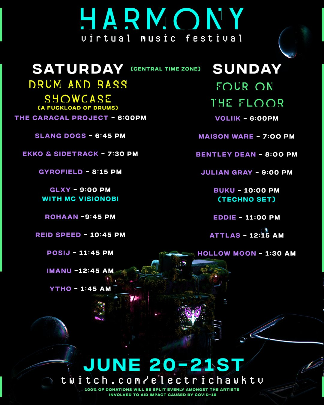 Electric Hawk Virtual Festival Live Stream