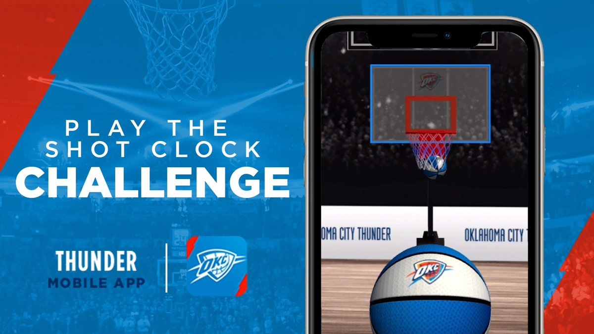 The @nuggets are our final opponent!   Download the Thunder App now and help us win the last Shot Clock Challenge!  🏀📲 | https://t.co/IgHmX6YMS4 https://t.co/RM3xYeEGcb