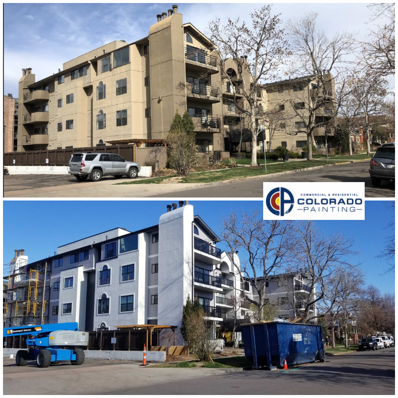 Absolutely beautiful transformation of this Denver condominium complex. Loving the bright and modern white exterior! #Denverpainters #commercialpainters #CCRPpic.twitter.com/Ppi35UHaqC