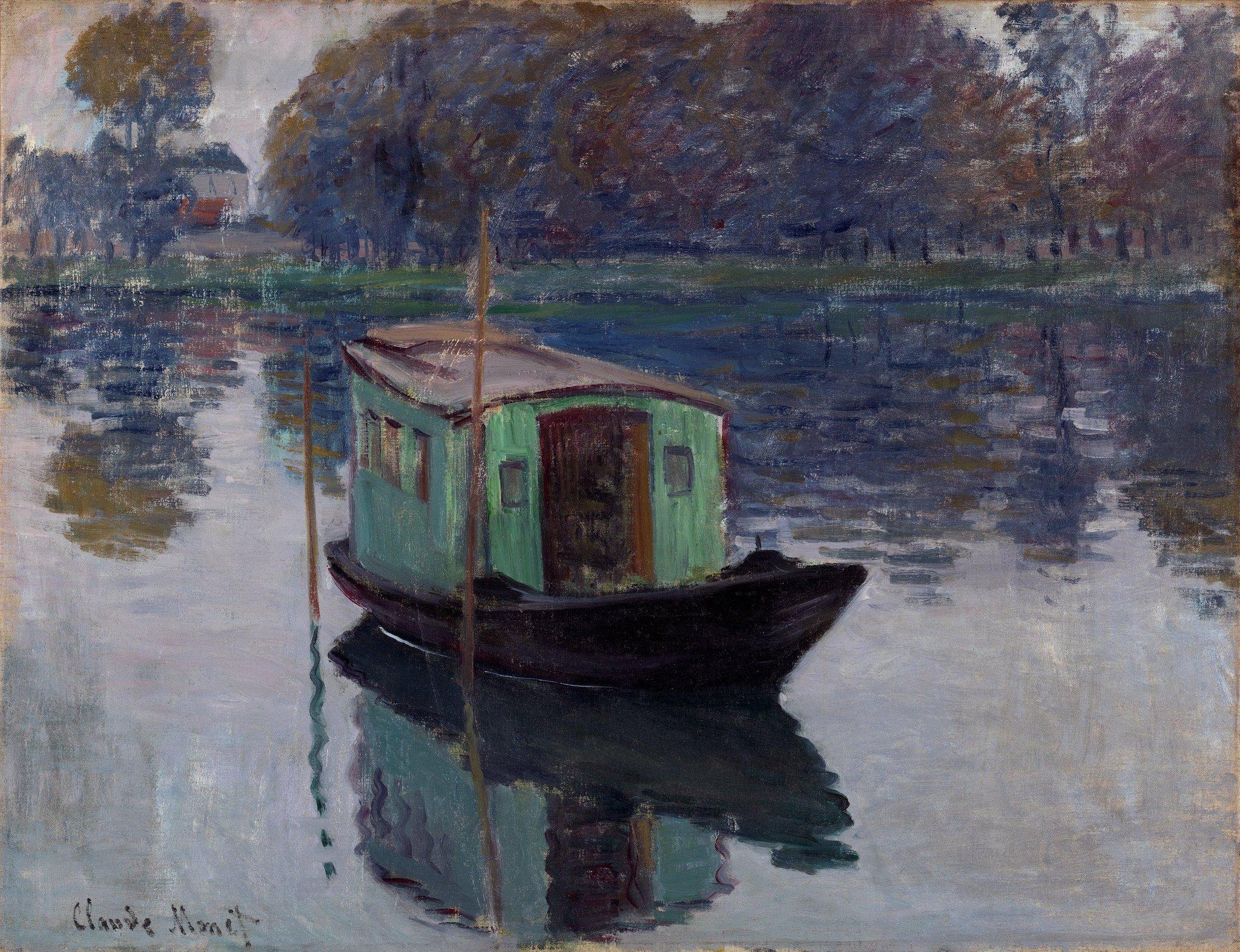 """Bouteflikov ™ 📚 on Twitter: """"Après avoir subi une chirurgie oculaire, le  peintre impressionniste français Claude Monet aurait développé la capacité  de voir certaines longueurs d'onde ultraviolettes. il utilisait cette  capacité pour"""
