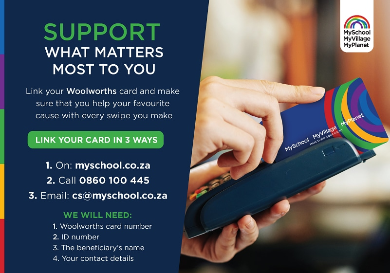 Link your card today and support #equinewelfare @MySchoolSA https://t.co/yI5JcBbvNF