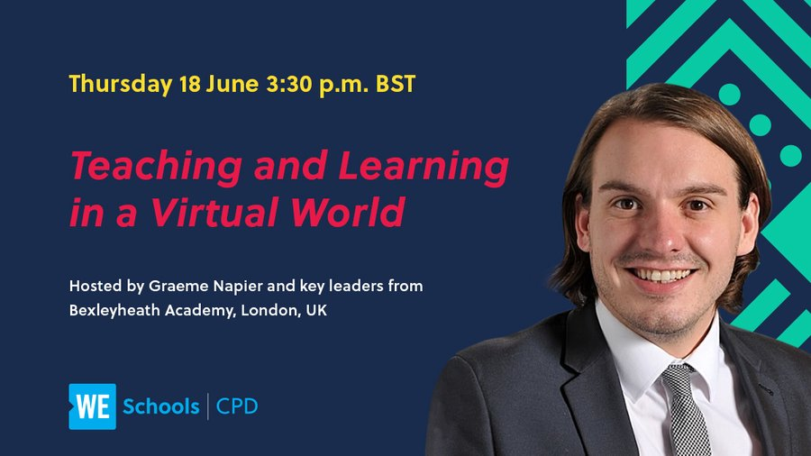 Looking for new ways to create impactful and interactive virtual learning opportunities? Join our exclusive webinar on 18 June at 3:30 p.m. BST, hosted by @BexleyHeathA, to discover top tips and methods to use with your own students. Register now at: https://t.co/vWA3OpMUs3 https://t.co/hymlMReNYD