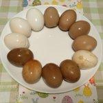 味卵の食べ比べ、作り方も公開!参考にいかが?