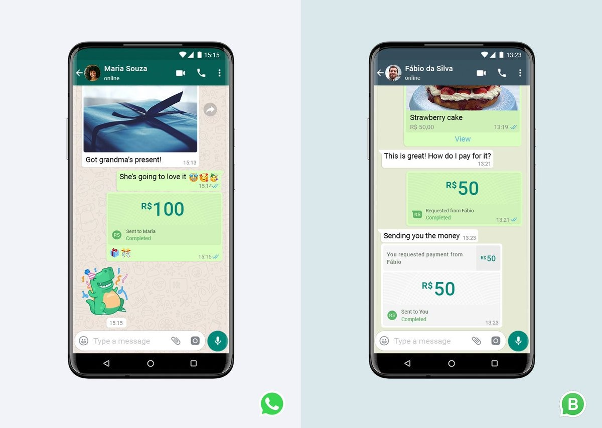 """BIG SOCIAL MEDIA NEWS:  Whatsapp has today announced that you will be able to pay friends and businesses (for free) using WhatsApp.  We're at the start of a major shift in """"social commerce"""" where bills, shopping, and other payments will happen seamlessly within social apps. https://t.co/H9bHbMXzcQ"""