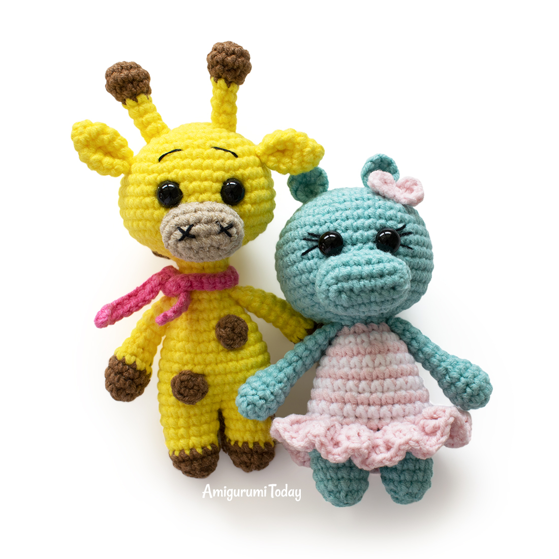 Amigurumi doll in butterfly costume - Amigurumi Today | 1100x1100