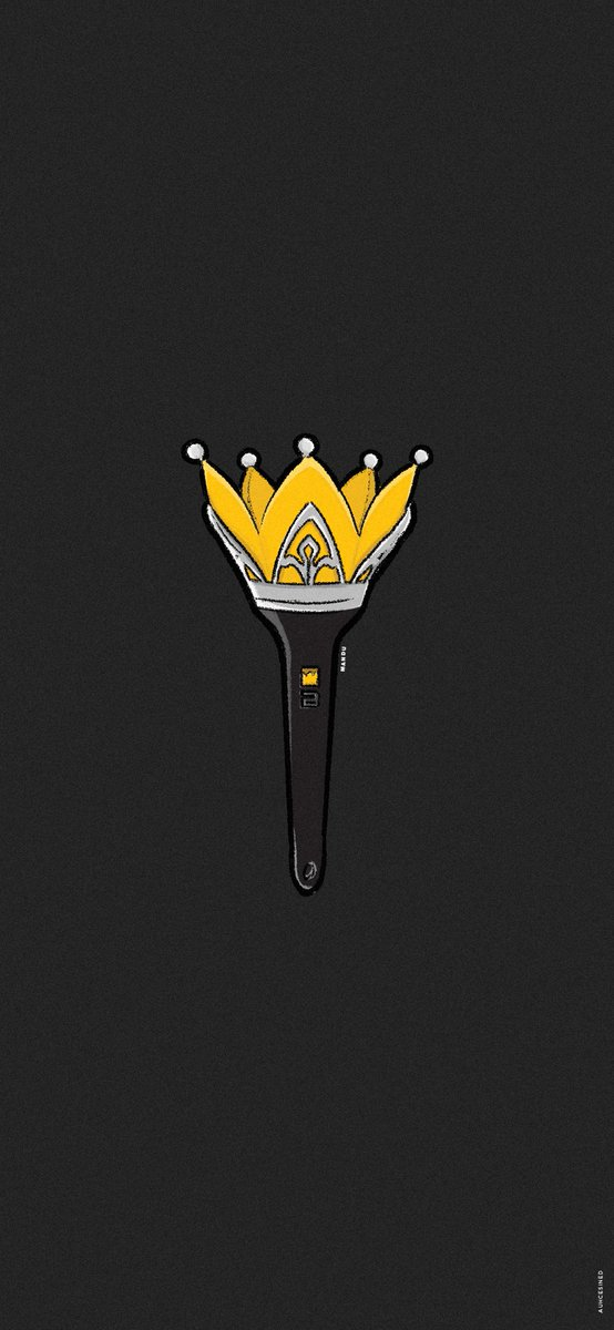 M A N D U On Twitter Wallpaper Digital Drawing Bigbang Crown Lightstick Bigbang Vip
