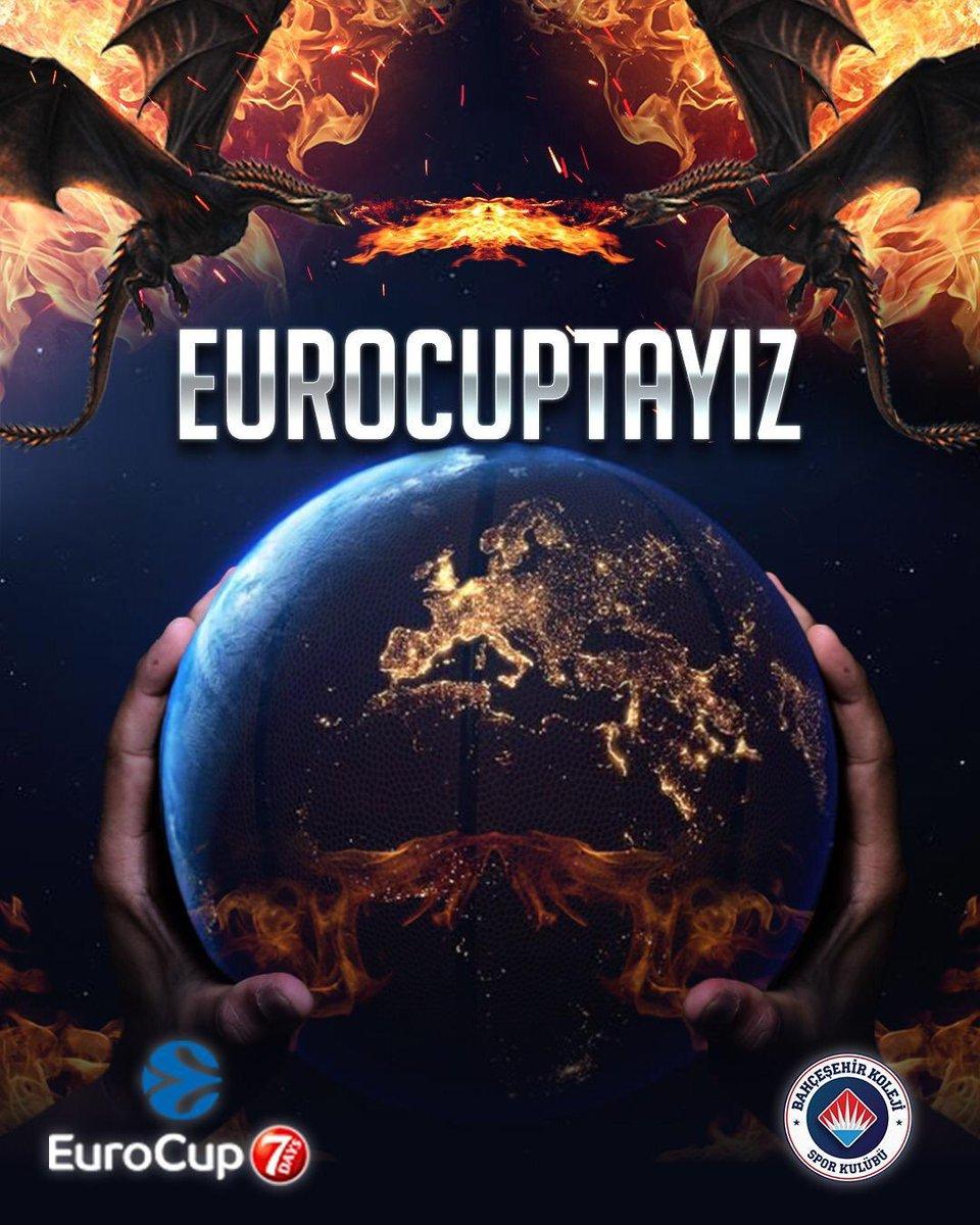 Avrupa'nın en büyük basketbol organizasyonu Euroleague'in kolu olan Eurocup'a katılmaya hak kazandık. Çok tebrik ediyorum👏🏻 👏🏻👏🏻İnşallah hem okulumuzu hem de ülkemizi en iyi şekilde temsil edeceksiniz. Yolunuz açık olsun... @EuroCup @BKBasketbol https://t.co/WgfslCq09Y