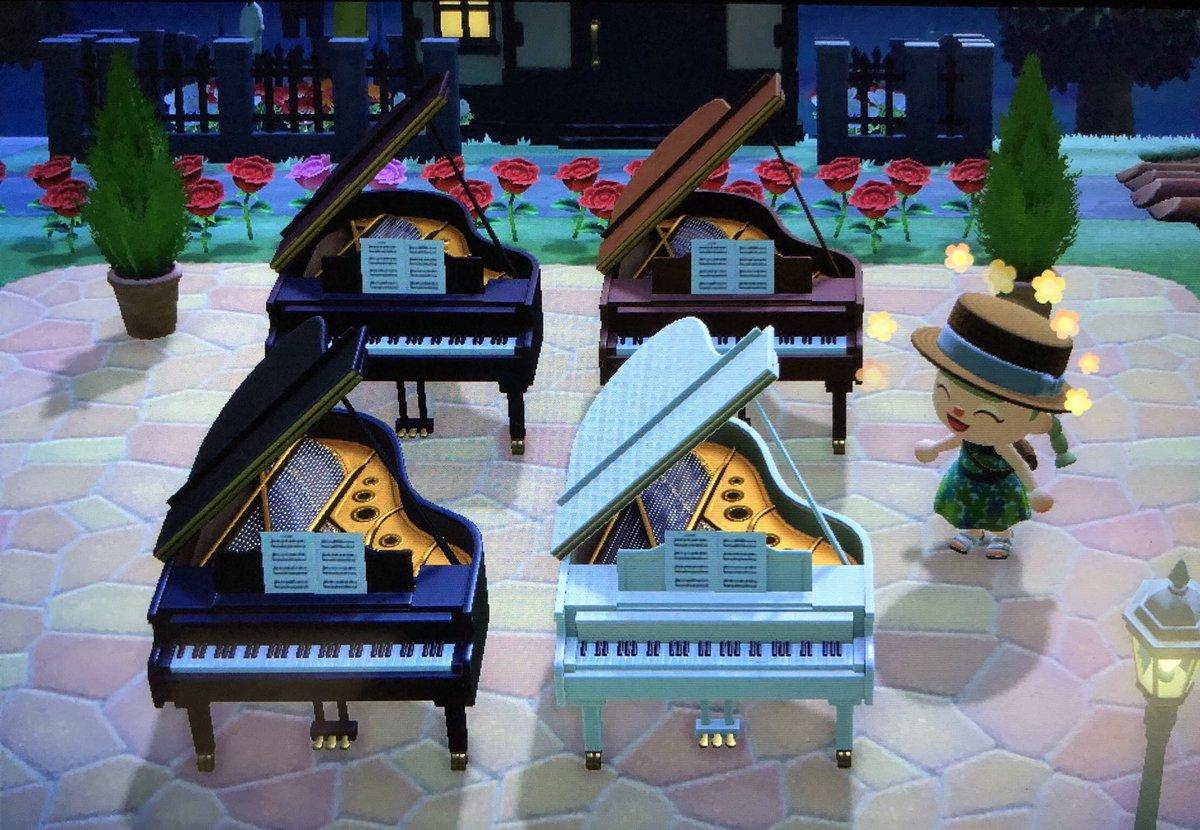 あつ グランド 森 ピアノ