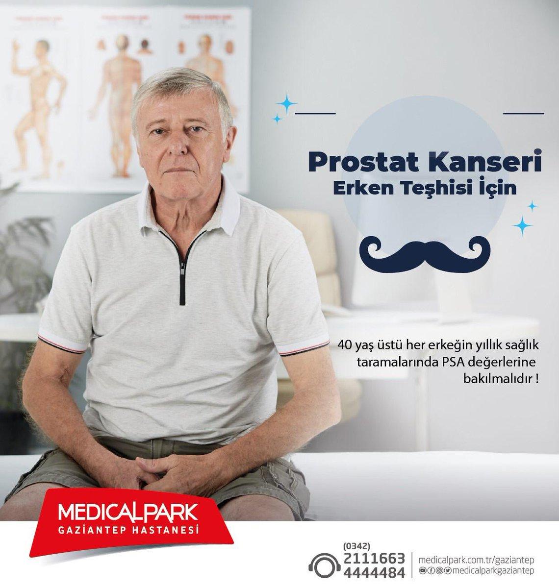 Prostat Kanserinin Erken Teşhisi İçin Geç Kalmayın. Üroloji polikliniğinden bilgi ve randevu almak için 0342 211 16 63 veya 444 44 84 numaralı çağrı merkezimizi arayabilirsiniz. #prostatkanseri #erkenteşhis #üroloji #herkesiçinsağlık #medicalparkgazianteppic.twitter.com/k0BcZP1xJ5