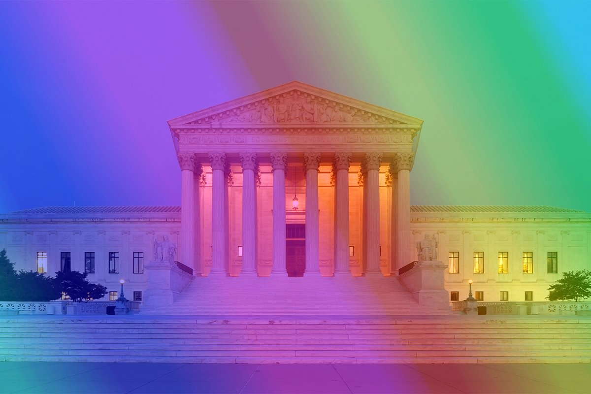 BREAKING: Today, #SCOTUS affirmed no employer has the right to discriminate against a person because of their #SexualOrientation or #GenderIdentity! This is an incredible victory for the #LGBTQ community! #TitleVII