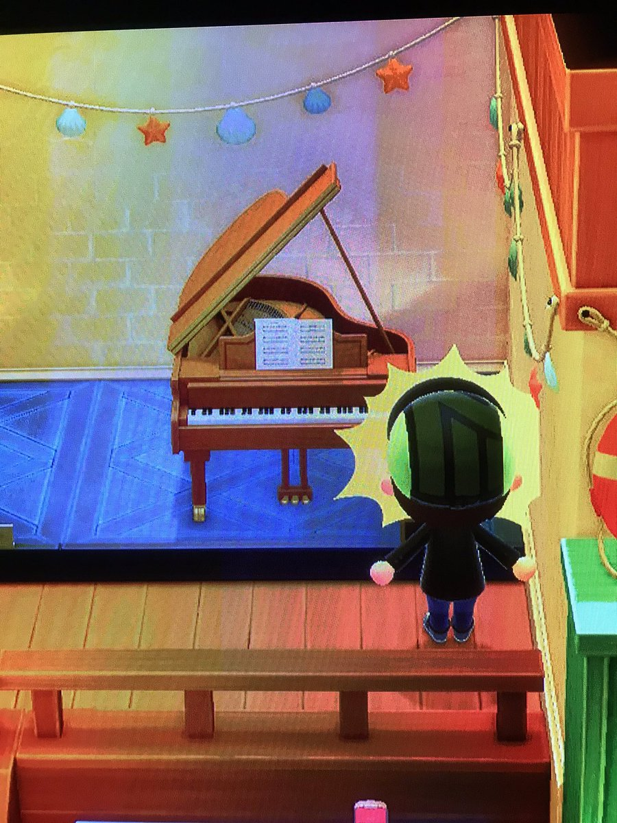 あつ 森 グランド ピアノ リメイク