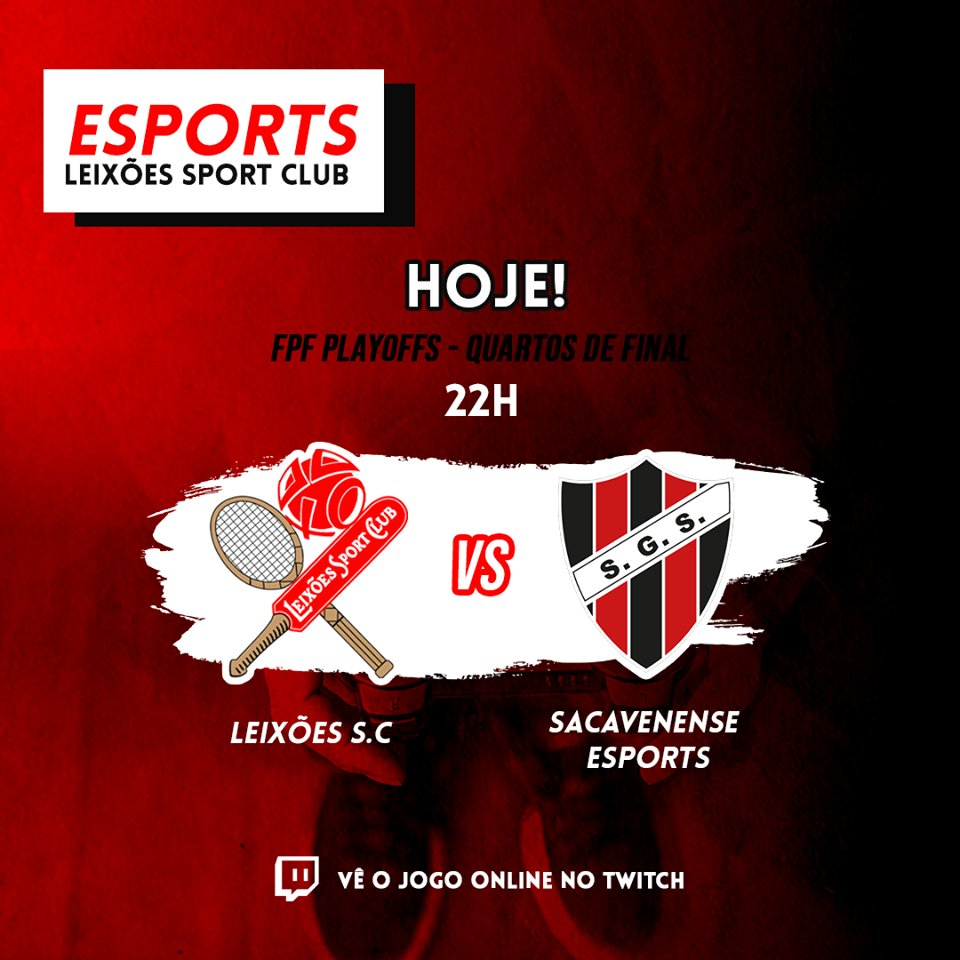 Leixoes Sc Esports On Twitter 2ª Liga Fpfesports Quartos De Final Playoff Campeao Hoje 22h Sacavenenseesp1 Https T Co 40yx94rmtx